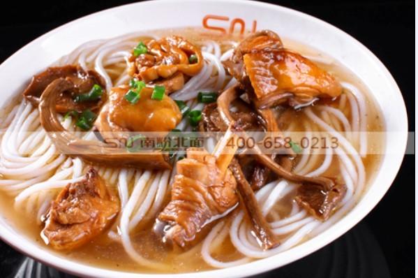 茶树菇鸡汤粉